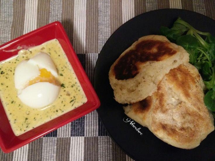 Naans et curry